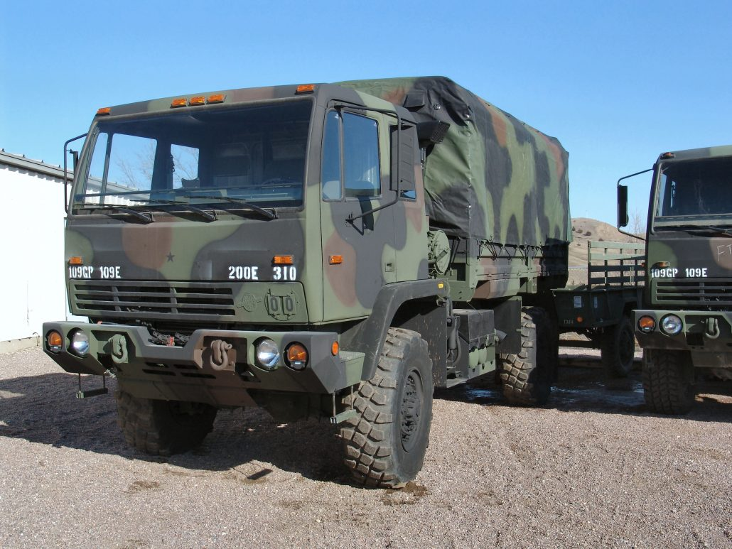 Military Truck / Trailer Covers - Breton Industries